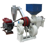 SNF Series Double Blower Fine Bran Rice Mill
