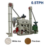 XCT500X Automatic Mini Rice Mill Plant (Fine Bran)