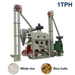 XCT1000 Automatic Mini Rice Mill Plant