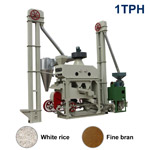 XCT1000X Automatic Mini Rice Mill Plant (Fine Bran)