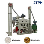 XCT2000 Automatic Mini Rice Mill Plant