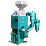 LNTF Combined Rice Huller & Whitener With Disk Mill