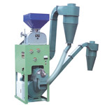 HLNF Combined Rice Huller & Whitener With Double Disk Mill
