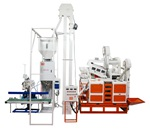 ZCT1000 Mini Rice Mill Plant + Packing System